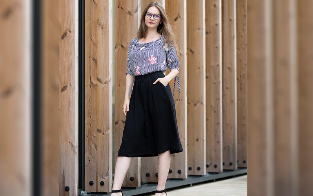 dlhé sukne ženuškáreň