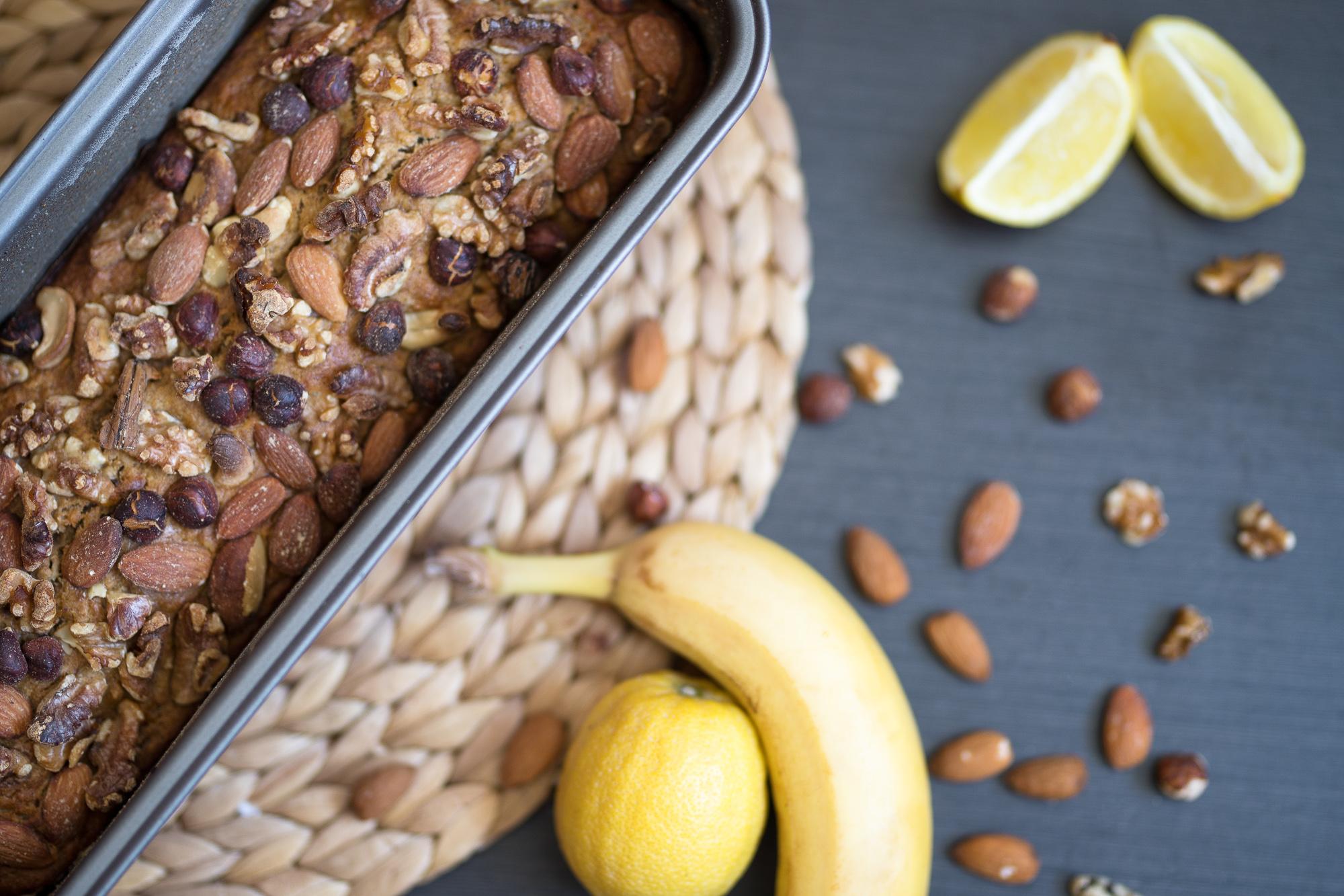 Banánový chlieb sorieškami pre celiatikov, veganov aj bezlaktózových ženuškáreň