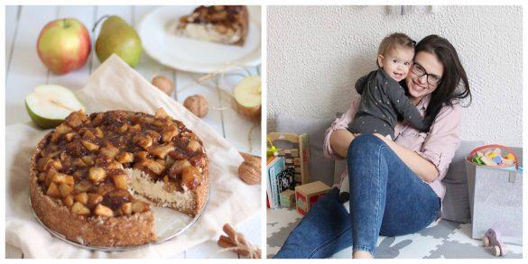 Recept od úspešnej vegan blogerky. Jablkový koláč stofu a tvarohom
