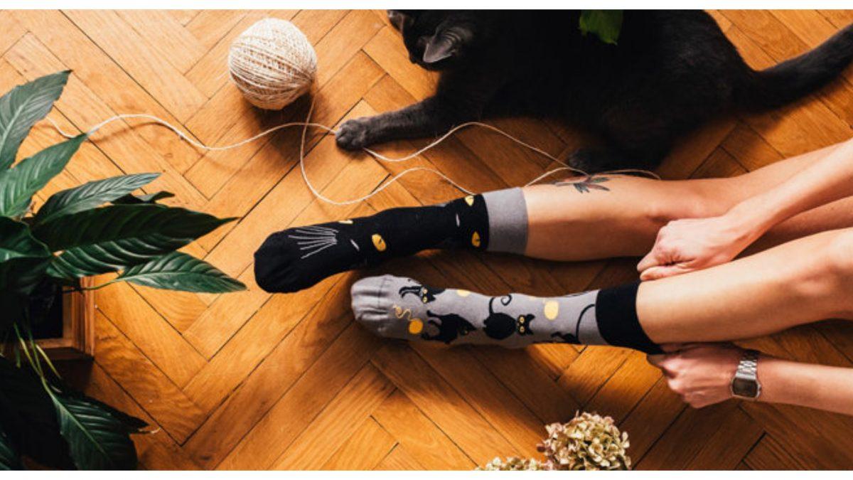 Chýba ti dobrá nálada? Obleč si veselé ponožky, tie sa už o teba postarajú