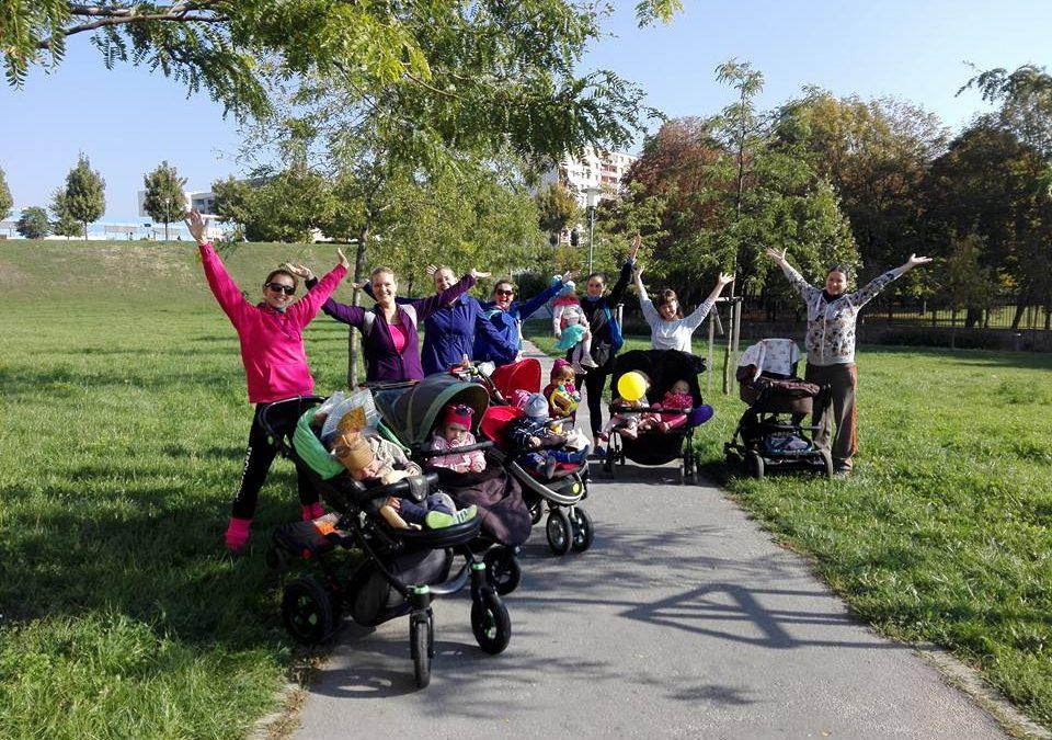 Strollering – cvičenie pre zaneprázdnené mamičky, ktoré na tréningy berú aj svoje deti