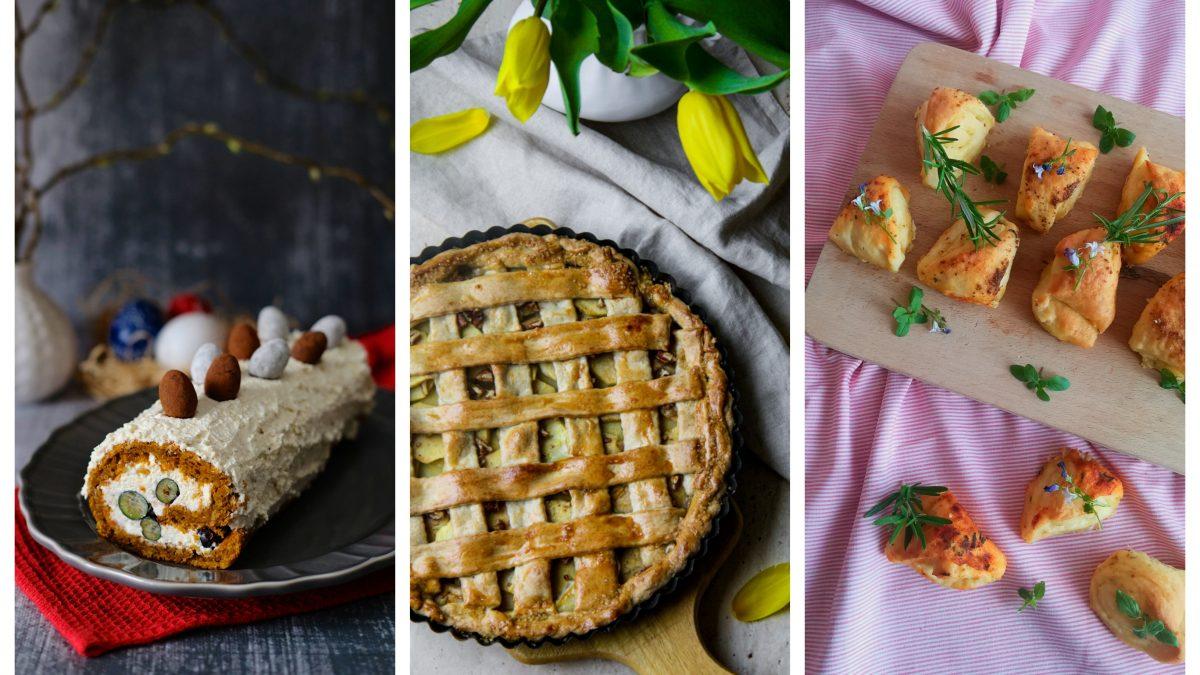 Mrkvová roláda, jablkový tart a kysnuté koláčiky. Veľkonočné recepty, ktorými sa na sto percent zavďačíte každej návšteve