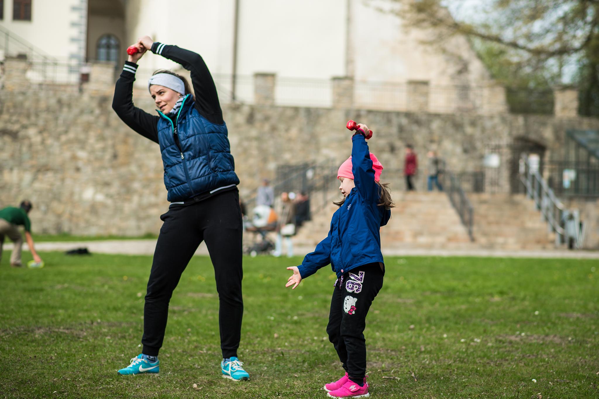 Fit mama rande. Športovo-rekreačné podujatie pre mamičky s deťmi zožalo veľký úspech