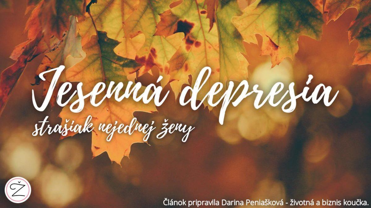 Jesenná depresia. Ako nad ňou vyhrať a byť opäť šťastný?