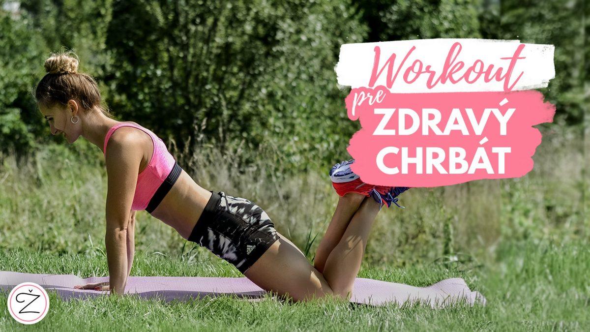 Zdravý chrbát – cvičenie pre ľudí so sedavým zamestnaním